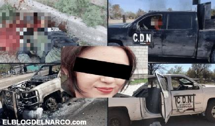 Encuentran muerta en tambo a mujer expolicía en zona de balacera que dejó 20 muertos en México