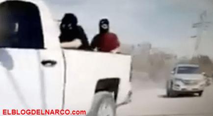 Así se pasean los sicarios del Marro por el Triángulo del Huachicol (VÍDEO)