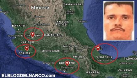 El Mencho y el CJNG se extienden por México como cáncer, están en 75% del territorio