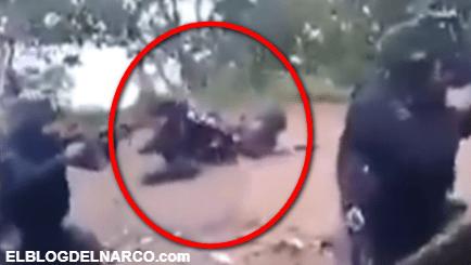 Cubreme, cubreme ..., así se vivió fuerte enfrentamiento entre Policías y sicarios (VÍDEO)