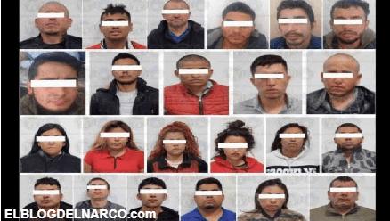 Dan duro golpe a El Mencho, le capturan 24 integrantes del CJNG en Guanajuato