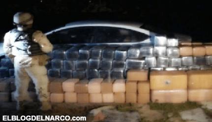 Ejército decomisa mil 800 kilos de marihuana y cristal en Ensenada