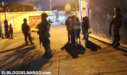 Levantaron a 5, quemaron anexo, casas y automóviles en Irapuato