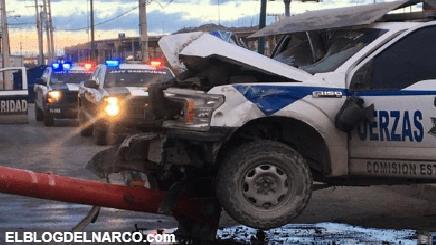 Sicarios atacan a Policías Estatales en Ciudad Juárez, hay tres elementos heridos