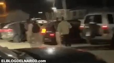Sicarios de 'Los Chapitos' salen a la calle... ¡y hasta cargan gasolina en Sonora! (VÍDEO)