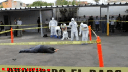 Sicarios lo ejecutan a balazos y le dejan GPS pegado en el estómago en zona del Cártel de Sinaloa