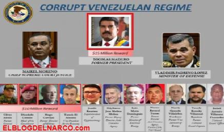¿Qué es el Cártel de los Soles supuesta mente liderado por Nicolás Maduro..