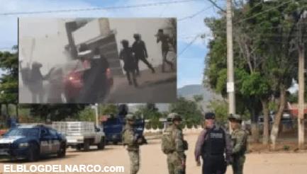 Así agarraron a cuatro del Cártel de Sinaloa cuando querían rematar a sujeto en hospital (VÍDEO)