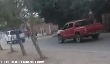 Así andaban los sicarios del Cartel de Sinaloa en las calles de Culiacán