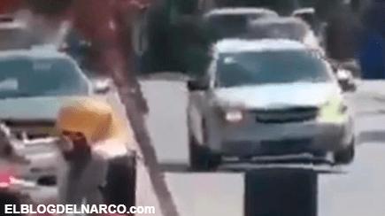Balaceras, persecuciones y bloqueos, el violento enfrentamiento entre sicarios y policías de Tamaulipas (VÍDEO)