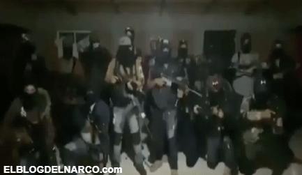 CJNG amenaza con hacer pedacitos a policías y taxistas que apoyen a La Familia Michoacana (VÍDEO)