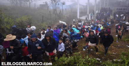 Comando irrumpe en pueblos de Guerrero y obliga a gente a salir...