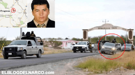 Con 30 Camionetas repletas de Estacas escoltaban a El Lazca de día y de noche