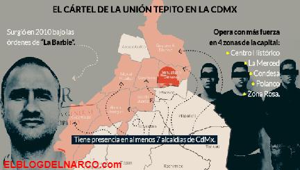 En apenas 9 años, La Unión Tepito se expandió en toda la CdMx, tiene presencia en 7 alcaldías y 4 zonas