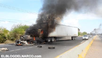 """Escapa """"El Marro"""", operativo en Guanajuato provoca bloqueos y quema de autos (VÍDEOS)"""