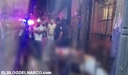 Imágenes de Masacre de bar La Banquetera, deja a 7 personas acribilladas y seis heridas en Edomex