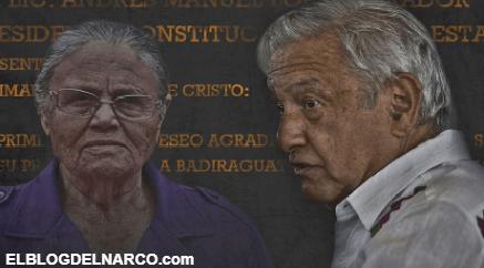 """TEXTO INTEGRO Difunde la carta que la mamá del """"El Chapo"""" Guzmán le mando a López Obrador..."""