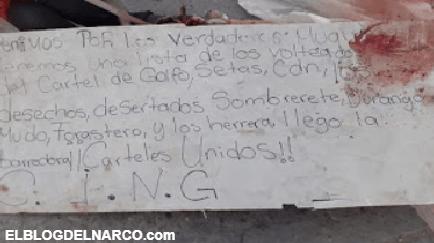Vídeo Indignarte donde el Cartel del Golfo junto a su aliado CJNG decapitan a sicarios del Mayo Zambada