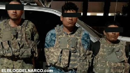 """Detuvieron a """"El 28"""", """"El Grande"""" y """"El 260"""" con potentes armas de fuego en Carichí, Chihuahua"""