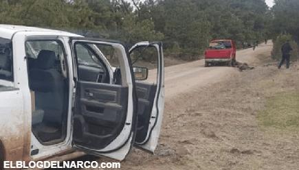 Imágenes fuerte de la masacre entre Cártel de Sinaloa y La linea CDJ que dejo 35 sicarios muertos