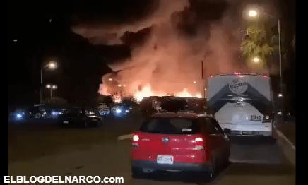 La guerra del Mencho y El Marro Explota coche bomba terror en Celaya; no hay lesionados (VÍDEO)