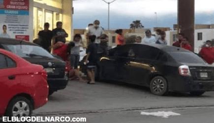 VÍDEO Una mujer fue ejecutada por Pistoleros en Escobedo, Nuevo León