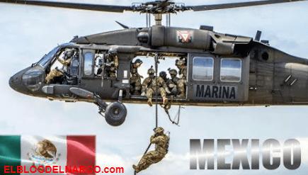 Caen 4 del CJNG en Aguililla y los trasladan en helicóptero ante temor de ser rescatados