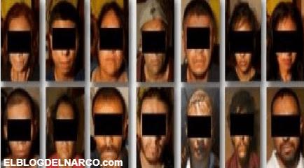 Detienen a 14 Sicarios del CJNG, desmantelaron la célula que operaba en Tecate