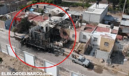 Ejecutan a 5 personas, entre ellas una menor, e incendian camión en Villagrán, Guanajuato