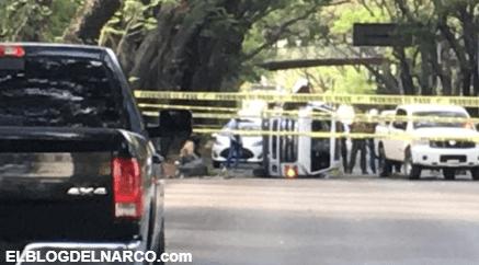 Enfrentamiento entre sicarios y policías frente a parque Agua Azul en Guadalajara deja 1 muerto y 2 heridos