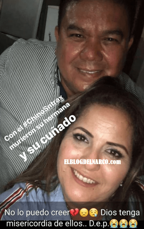 Fotos de Ada Aréchiga Gamboa hermana de 'El Chino Ántrax' y su esposo