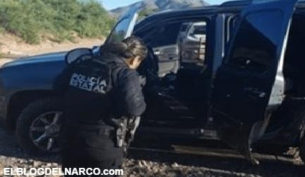 Le decomisan arsenal y Camionetas a grupo armados en Magdalena, Sonora