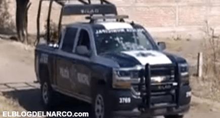 Pistoleros atentan contra mando policial en zona que el Marro y el Mencho se disputan