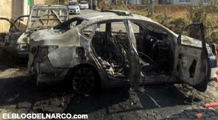 Pobladores ignorantes quemaron dos patrullas por que pensaron que regaban COVID-19