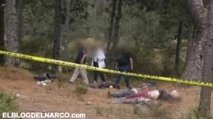 Torturan y ejecutan a seis personas en Los Azufres; Michoacán
