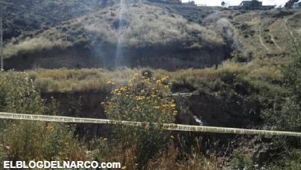 Tres personas fueron calcinados en la colonia Rancho Las Flores, Tijuana