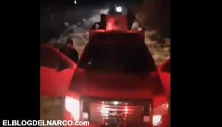VÍDEO Ejército del CJNG y el Mencho muestra decenas de trocas y armas en TikTok
