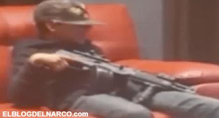 VÍDEO Exhiben a niño sicario muestra arma de grueso calibre mientras canta narcocorrido