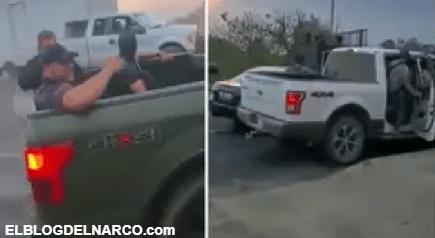 """VÍDEO La """"otra normalidad"""", el CJNG se paseó por Michoacán ante la indiferencia de las autoridades"""