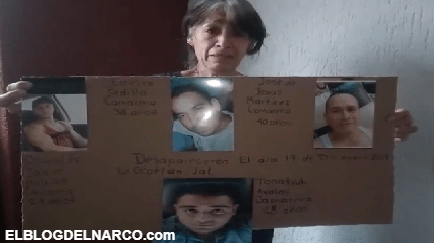 """VÍDEO Mujer le ruega a """"El Mencho"""" para que le ayude a encontrar a sus cuatros hijos desaparecidos"""