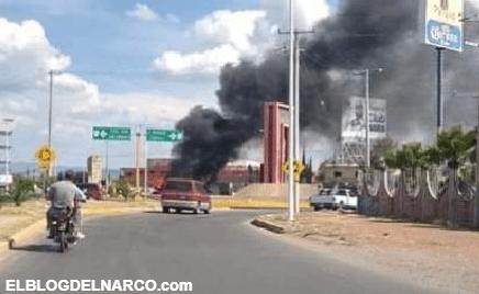 Ataques en Guanajuato, operativo para capturar a El Marro desata quema de vehículos y narcobloqueos
