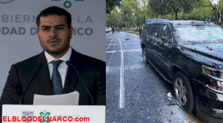 El CJNG amenazó a García Harfuch y cumplió, hoy la gente de El Mencho lo embosco
