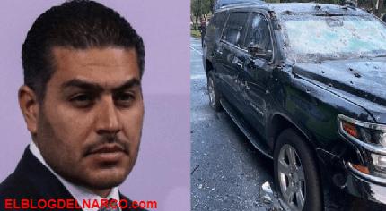 Omar García Harfuch recibió 3 impactos de bala, hay 3 Policías heridos, 1 escolta y 1 civil muertos