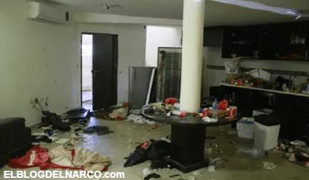 VÍDEO: La última guarida del Chapo Guzmán, una casa abandonada y casi de las ruinas