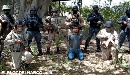 Vídeo donde el Mencho y el CJNG interrogan a Nito, famoso sicario de los Viagras