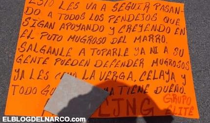CJNG detona granadas en Celaya; Guanajuato, dejaron un Narcomensaje
