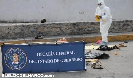Imágenes del terror en Taxco, descuartizan a hombre y le dejan narcomensaje