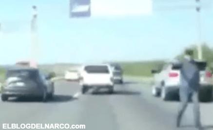 VIDEO Narcoretenes del Cártel del Noreste y policías de tránsito operan en total impunidad en NL