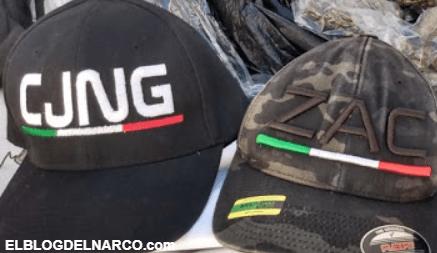 Caen narcomantas sicarios del CJNG en Aguascalientes por elementos de la SSP, Sedena y GN