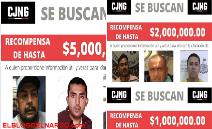 El Mencho y el CJNG ofrecen miles de dólares por las cabezas de sus enemigos